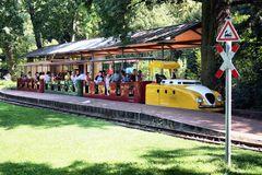 Schmalspurbahn im Karlsruher Schlossgarten *