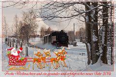 Schmalspurweihnachtsdampf