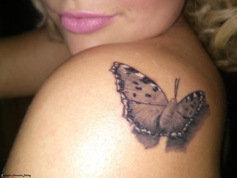 Schmetterlingstattoo