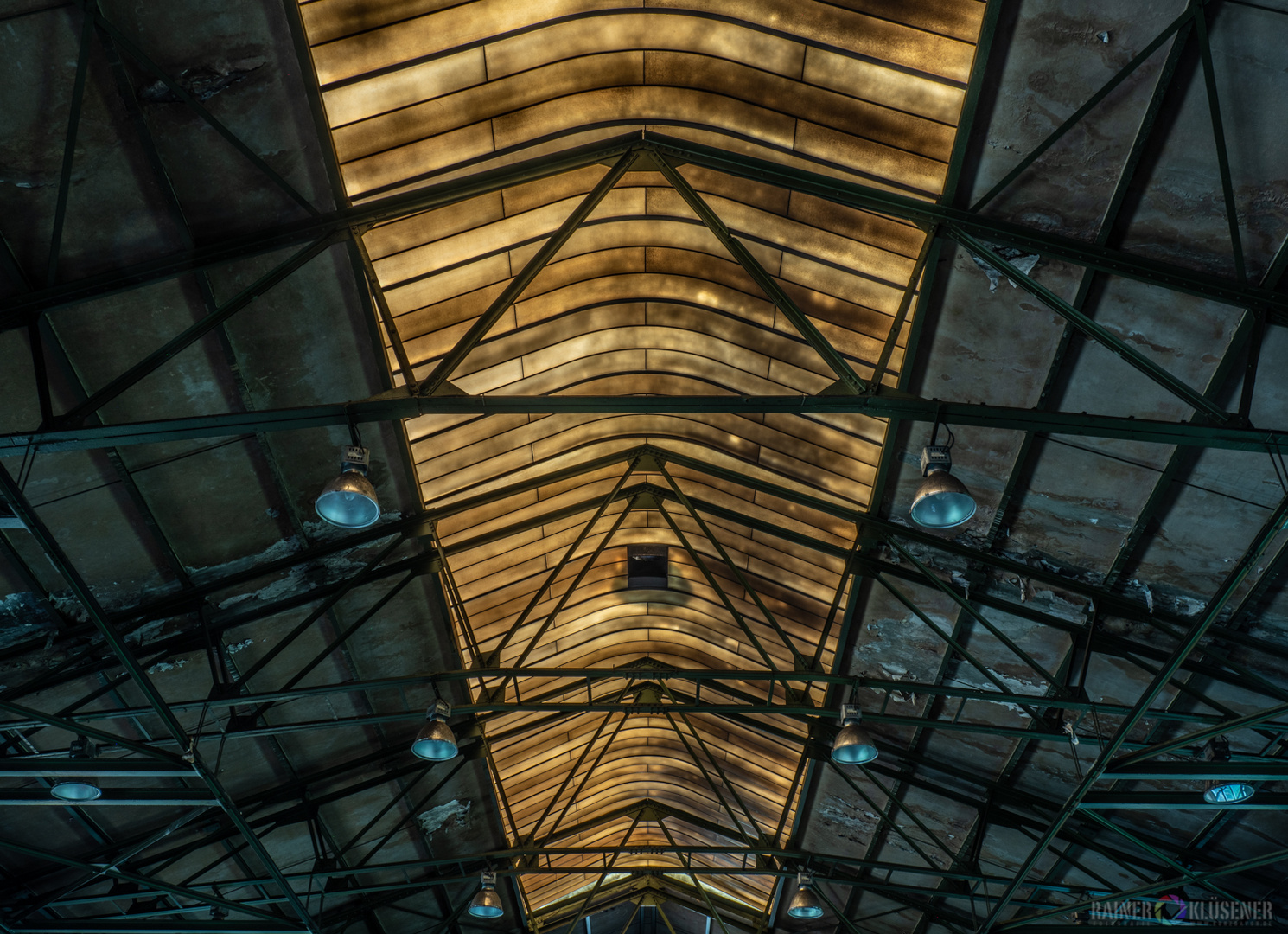 Schmiedehalle/Schlosserhalle eines Bergwerkes