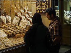 Schmuckkauf im Iran