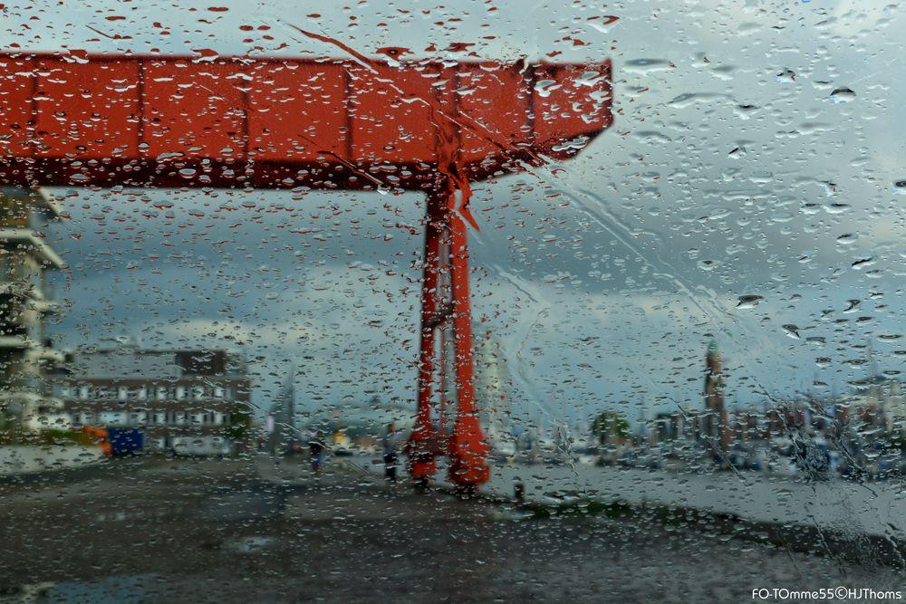 Schmuddelwetter in Bremerhaven