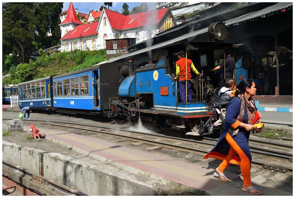 Schnappschuß in Darjeeling