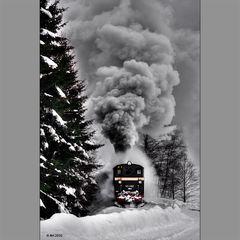 Schnaufendes Dampfross