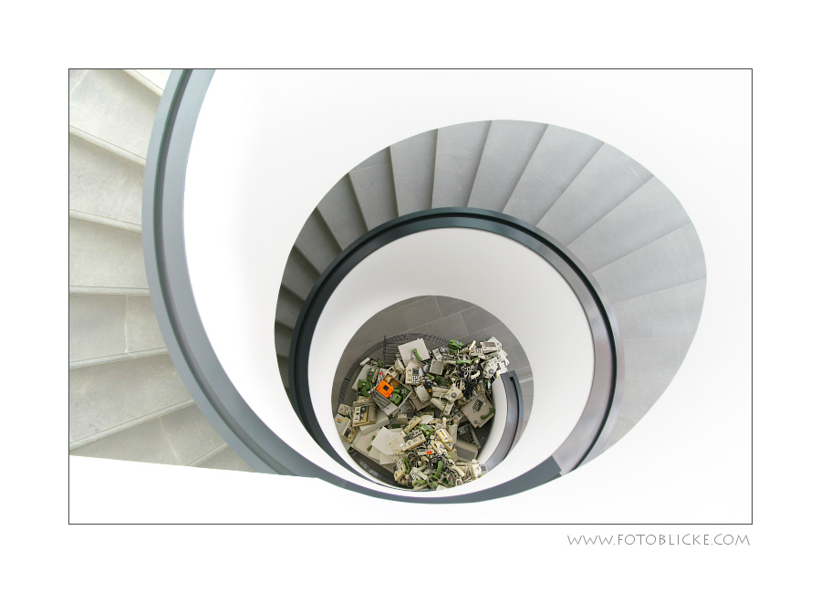 Schnecken Treppen
