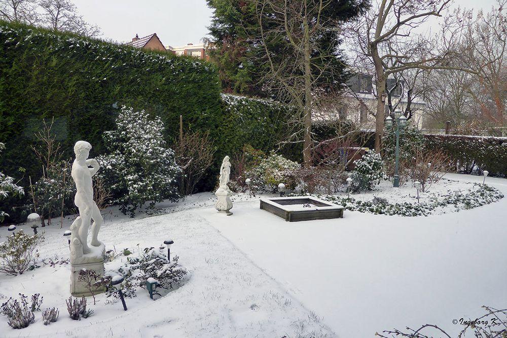 Schnee am 23.1.2019