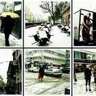 Schnee am Vormittag .