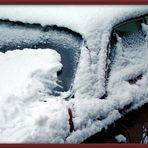 Schnee auf dem Benz