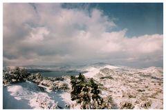 schnee auf elba...