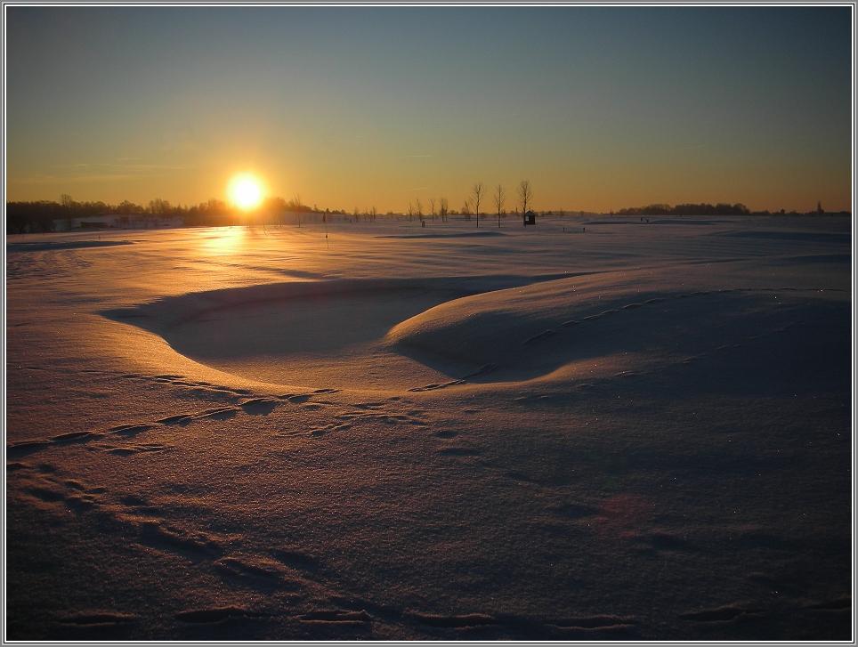 Schnee-Bunker