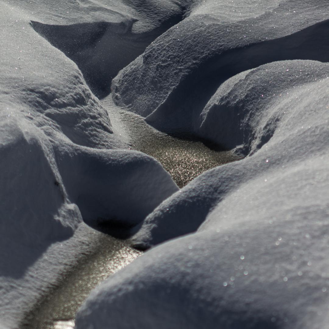 Schnee-Canyon