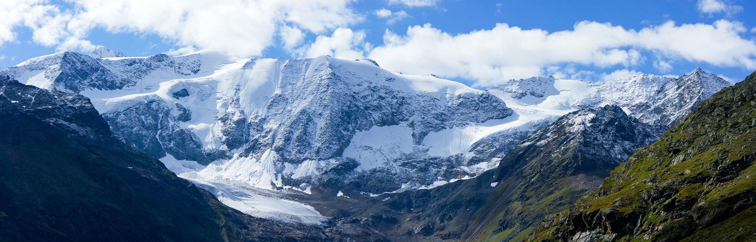 Schnee, Eis und Fels