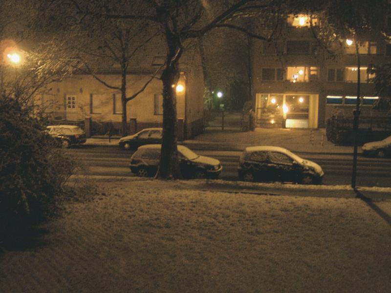 Schnee ende März!
