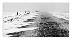 Schnee fegte übers Land III