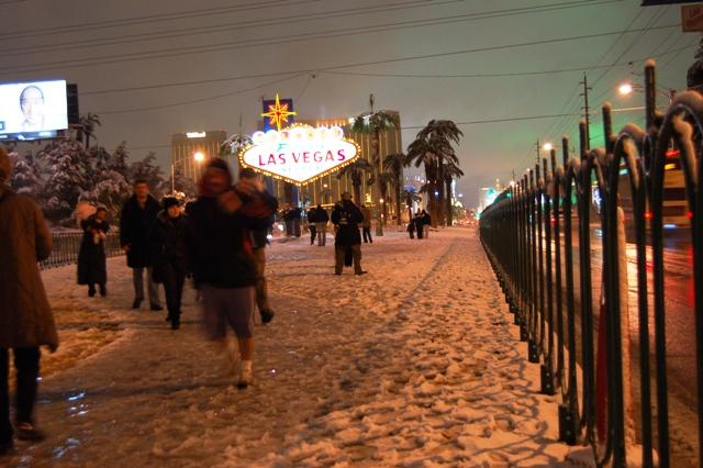 Las Vegas Schnee