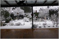Schnee in Neuss am 24. Januar 2015