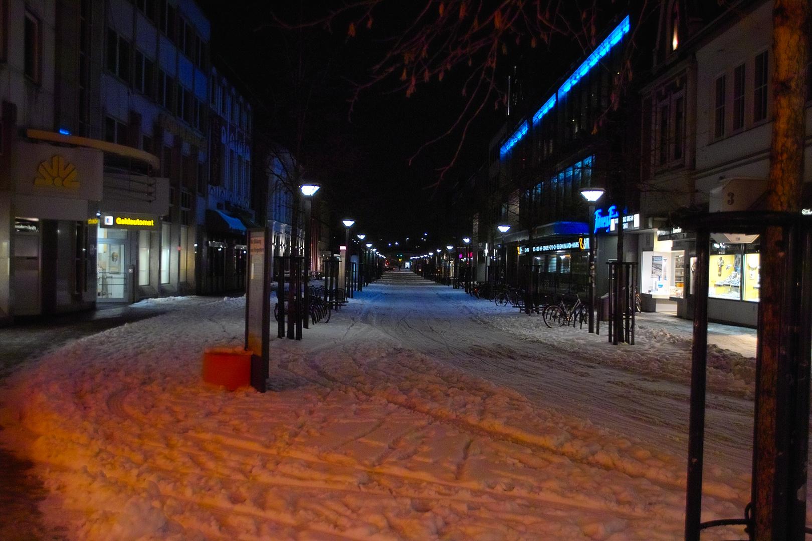 Schnee in Oldenburg