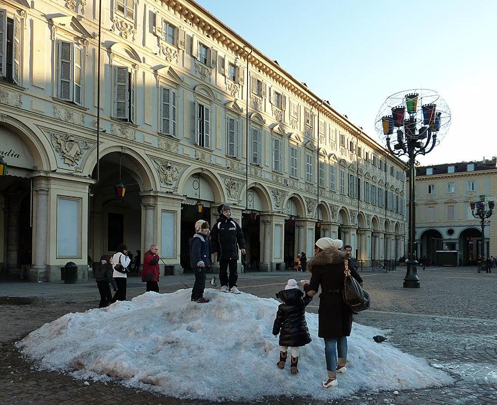 Schnee in Turin IV