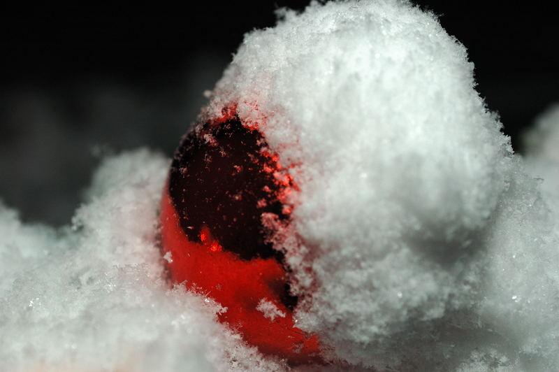 Schnee-Kugel