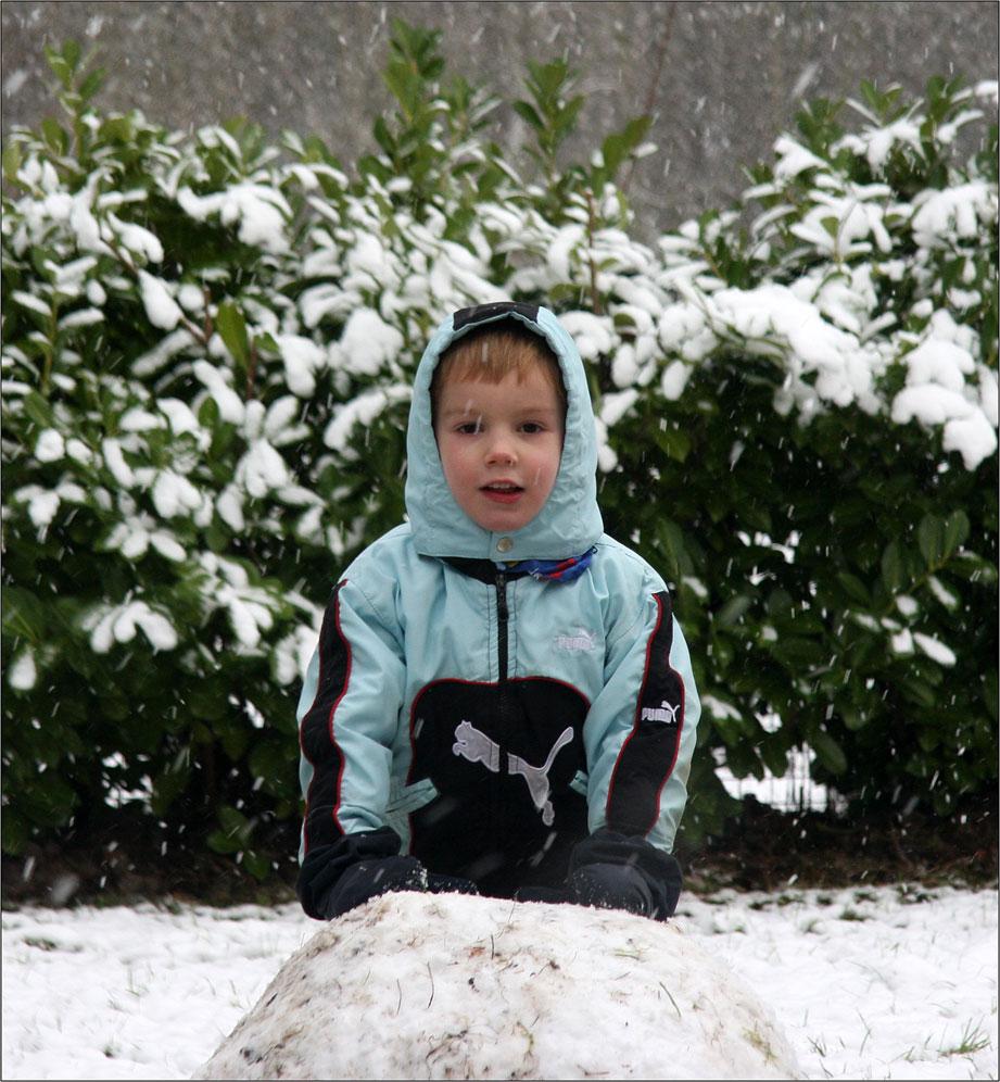 Schnee-Kumpel-Bauer