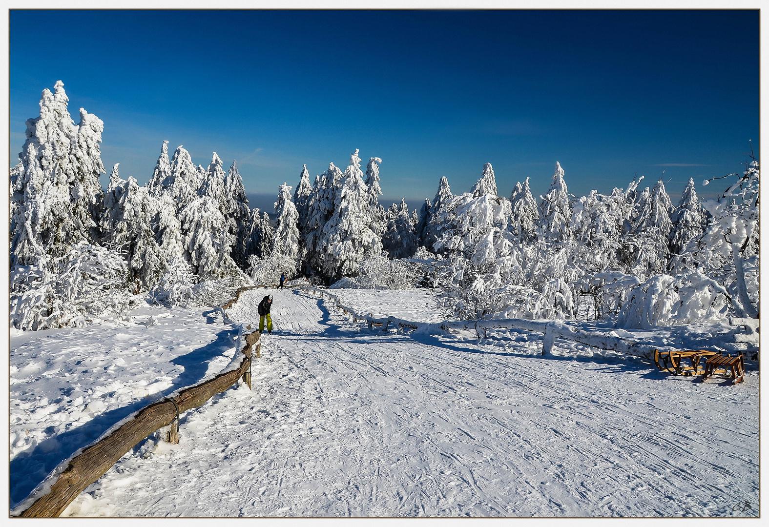 Schnee Hessen