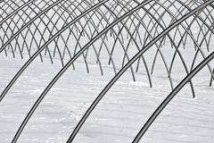 Schnee-Rohre