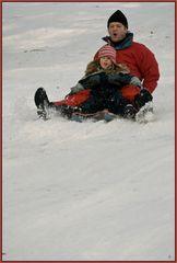 Schnee, Schlitten und Spaß