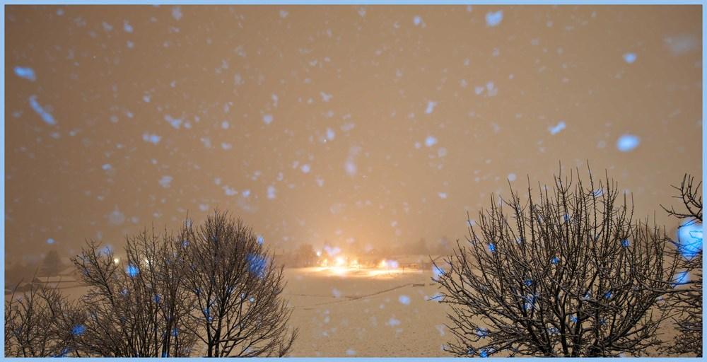 Schnee, Schnee, Schnee und nochmals Schnee