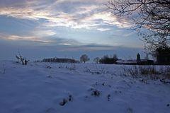 Schnee soweit man blicken kann