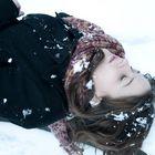 Schnee spiegelt Schönheit