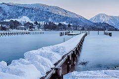 Schnee-Steg