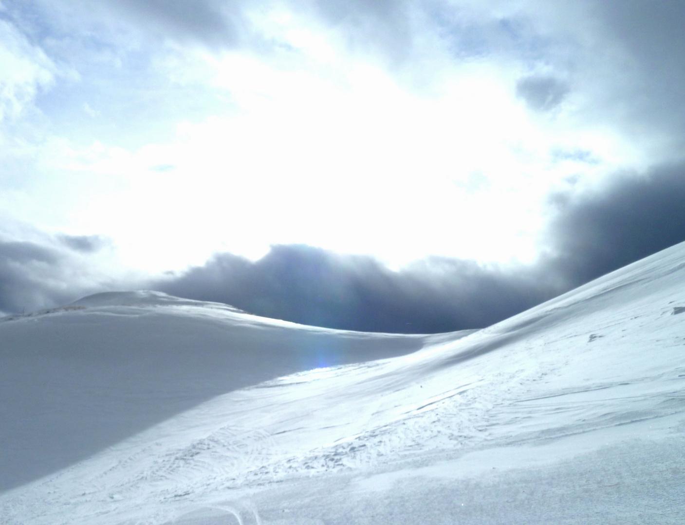 Schnee und Licht
