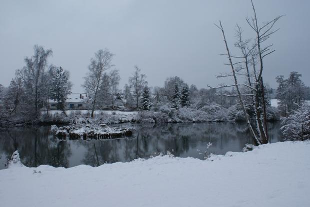 Schnee-Weiher