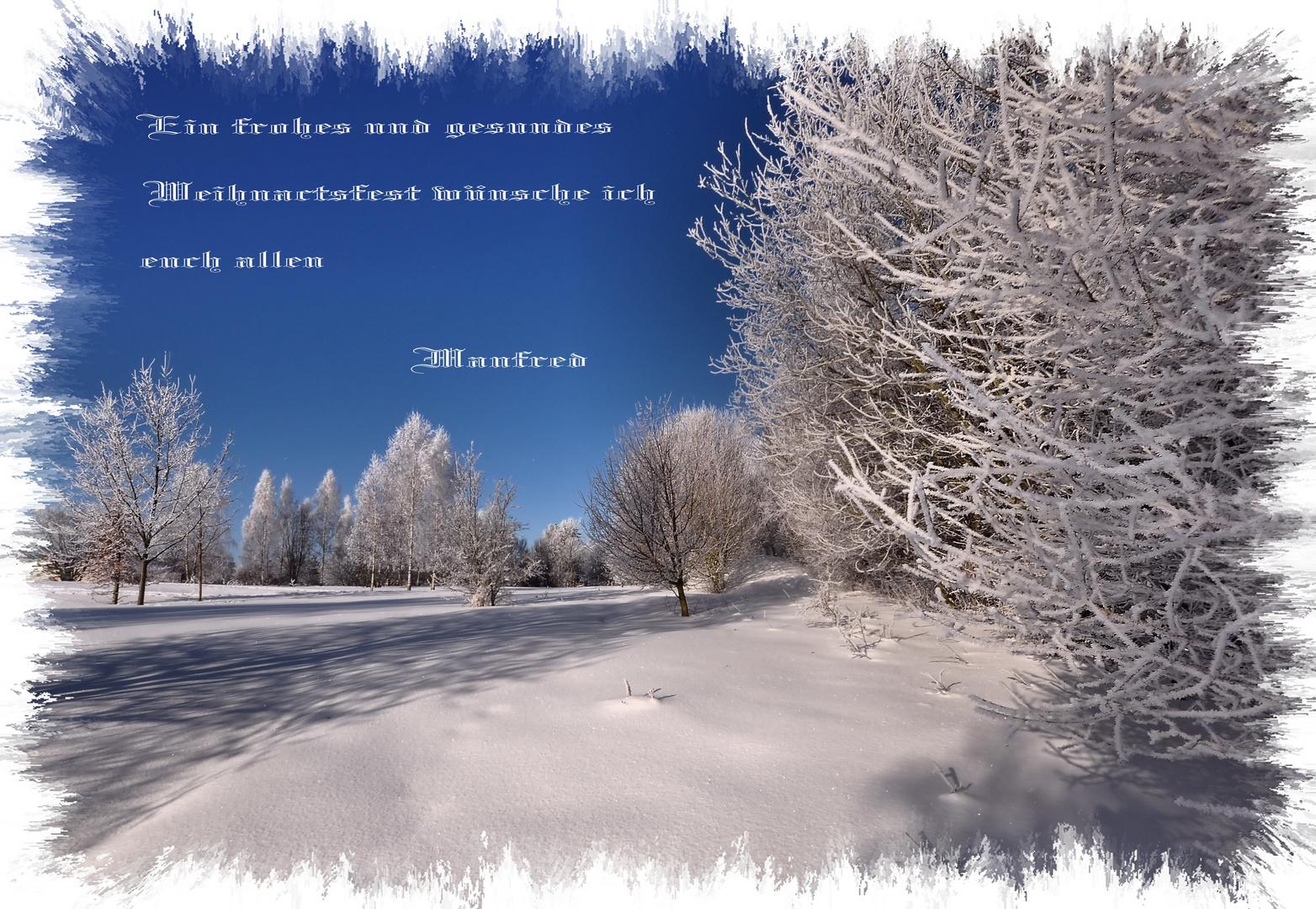 Schnee-Winter-Weihnachten..... Foto & Bild | jahreszeiten, winter ...