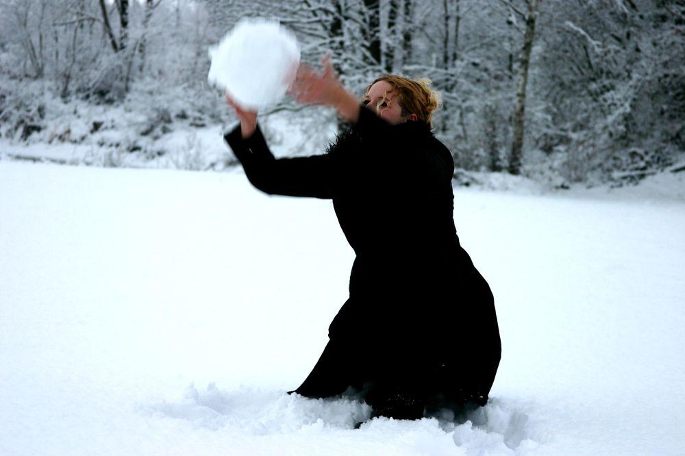 Schneeballspiel