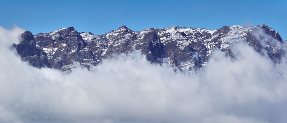 Schneeberge auf La Palma