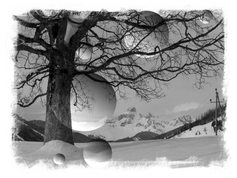 Schneeblasen