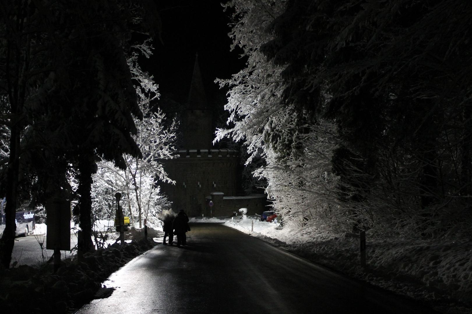 Schneedurchfahrt