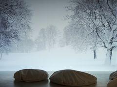 Schneefall - die Stille hören!
