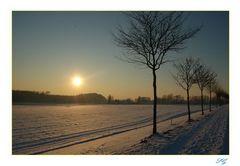 Schneefeld in NRW