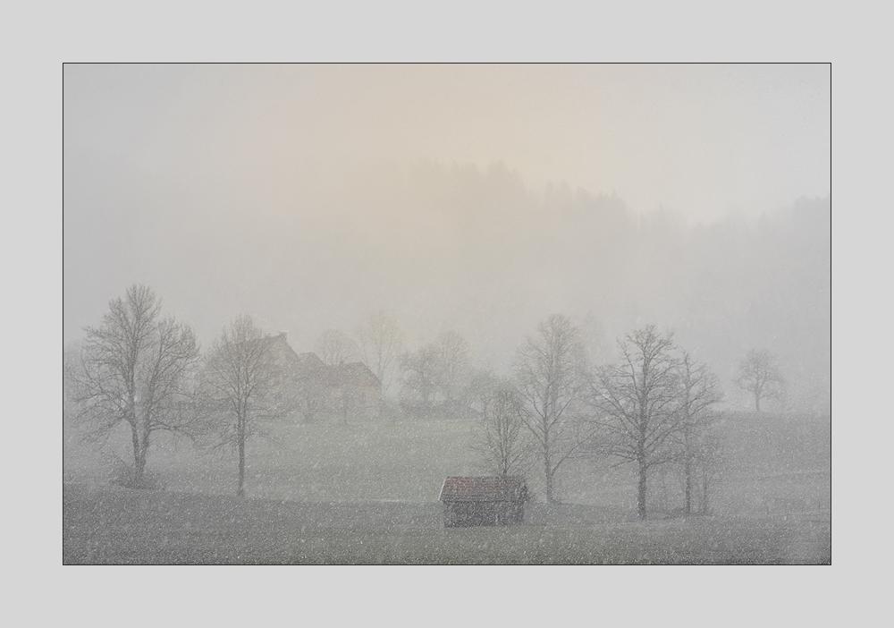 Schneeflocken ...