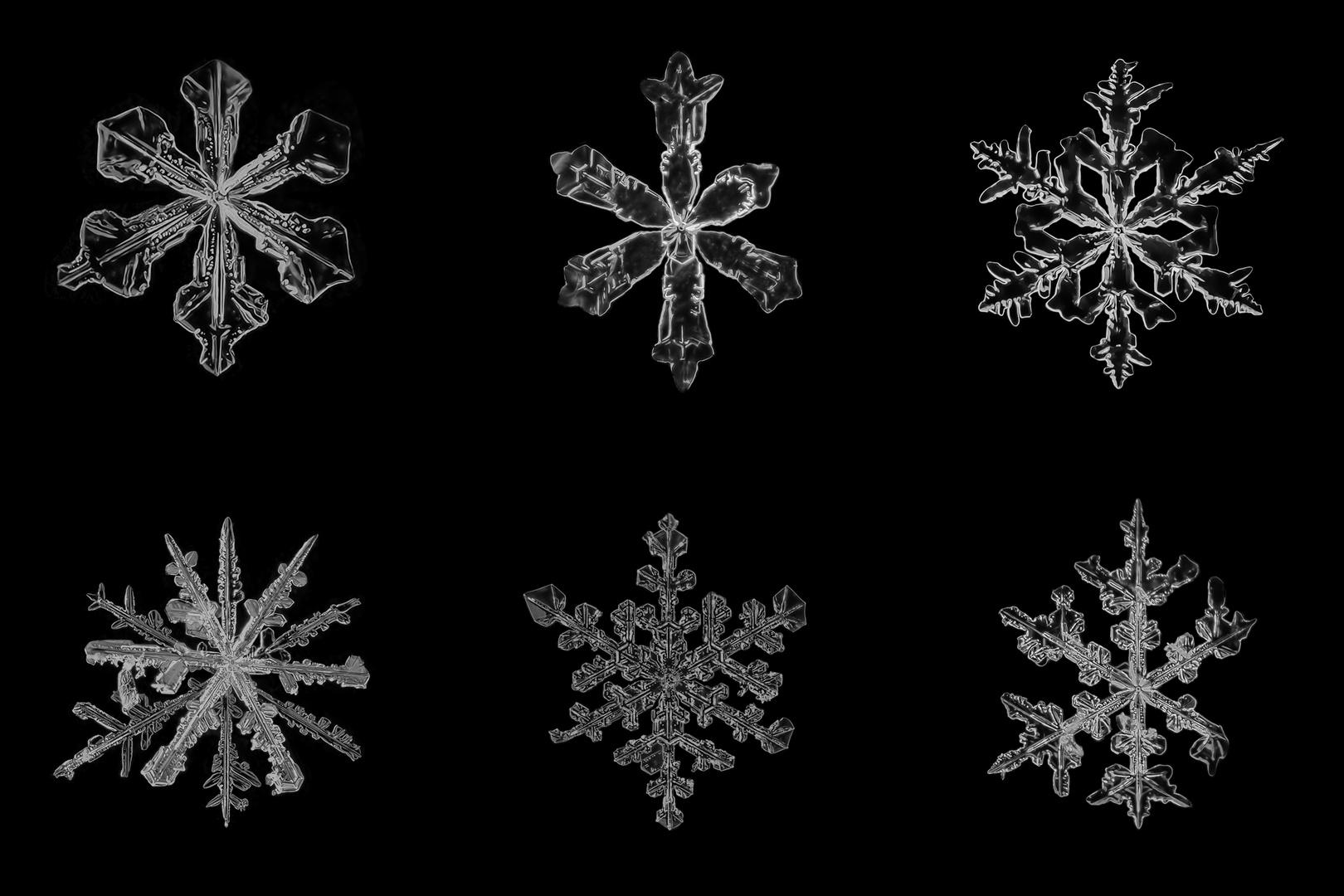 Schneeflocken III