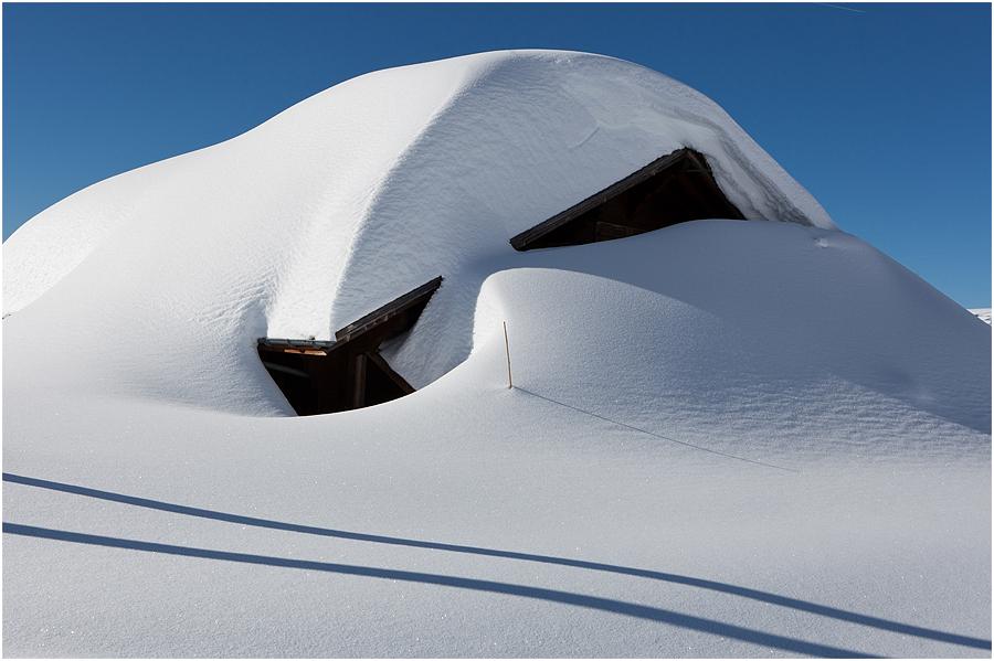 Schneehöhe