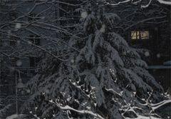 ... Schneeidylle ...