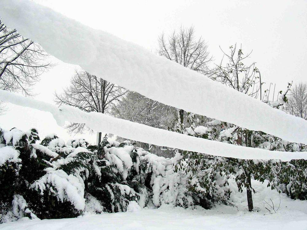 Schneeisolierung
