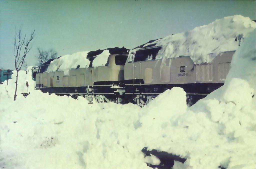 Schneekatastrophe 1987