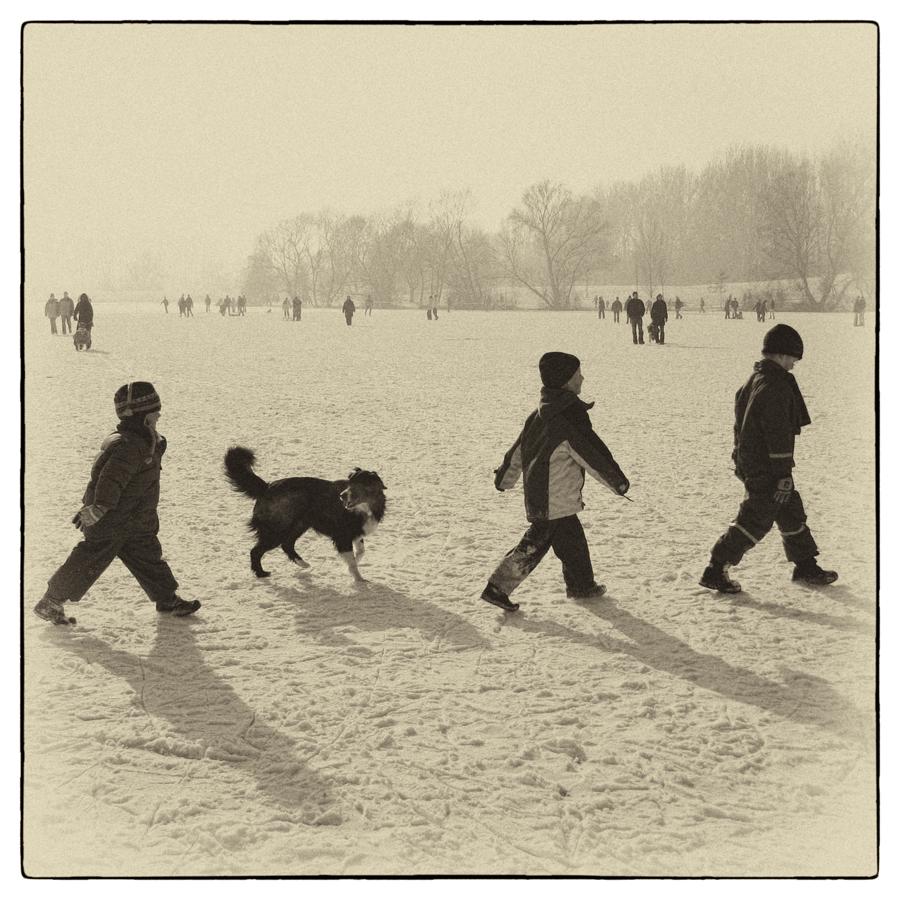 Schnee.Marsch