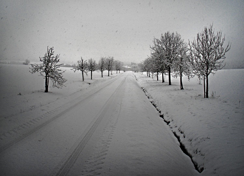 Schneepfad