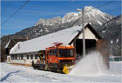 Schneeräumen auf Österreichisch