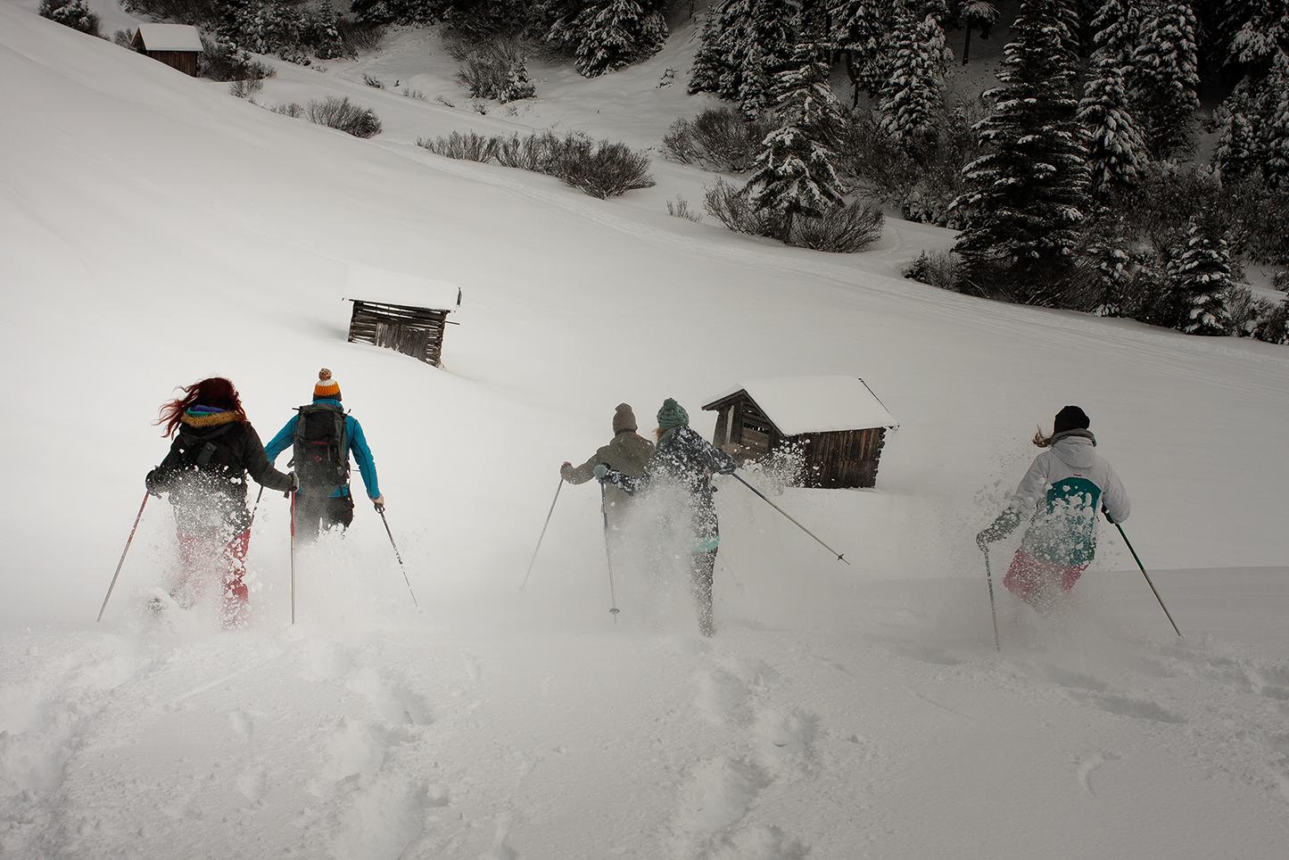 Schneeschuhabfahrt
